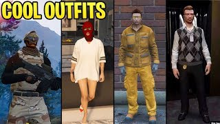 GTA Online: 10+ AWESOME Outfits (The Casual Agent, Firefighter, The Incognito & More)