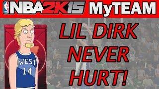 A LITTLE DIRK NEVER HURT! - NBA 2K15 MyTeam Pack Opening