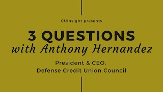3 questions with DCUC's Anthony Hernandez