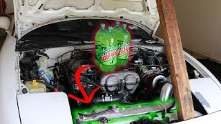 We Tried Mountain Dew Instead Of Coolant