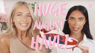 HUGE TRY ON HAUL! | Sophia and Cinzia