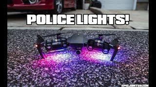 DJI Mavic Pro | Police Lights