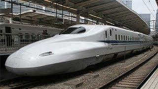 フルHD東海道・山陽新幹線Tōkaidō&SanyōShinkansenのぞみ11号東京-博多