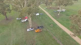 Moorex off road racing Drone Flight over