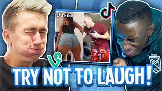 SIDEMEN TRY NOT TO LAUGH! (IMPOSSIBLE)