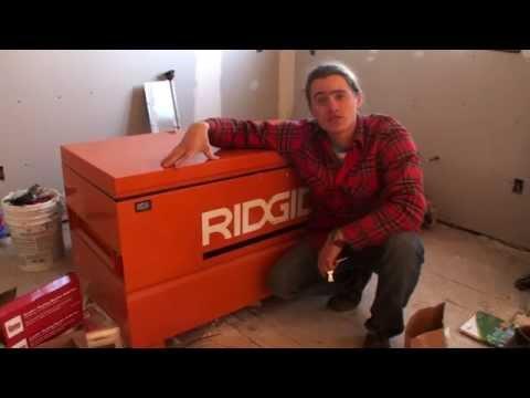 Ridgid Jobsite Tool Storage Box Review – Keeps Tools Safe!