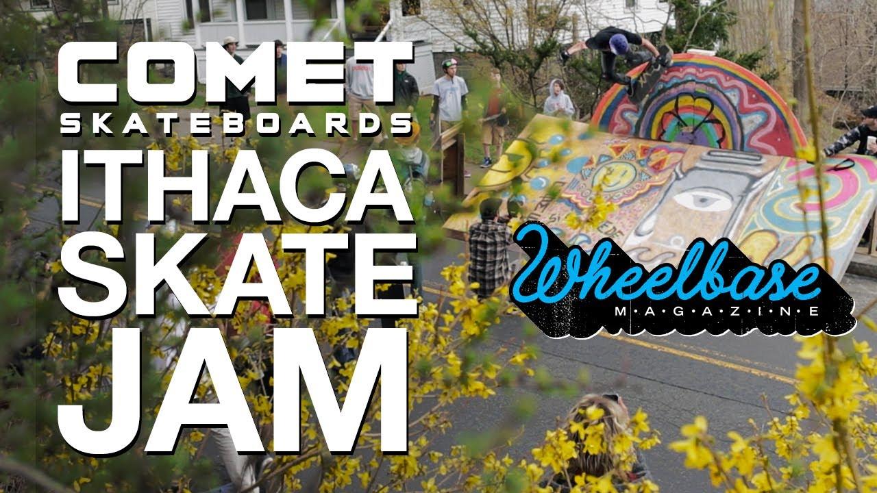 Comet Skateboards' Ithaca Skate Jam - Downhill Skateboarding Event