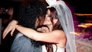Happy 13th Wedding Anniversary Slash & Perla!