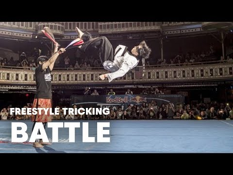 Freestyle Tricking Battle - Red Bull Throwdown 2014