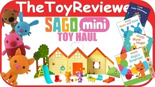 Sago Mini App Toy Haul With Books, Plushies, And Jinjas House Unboxing Toy Review By TheToyReviewer