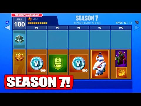 Download Fortnite Season 7 Battle Pass 7 Details We Know