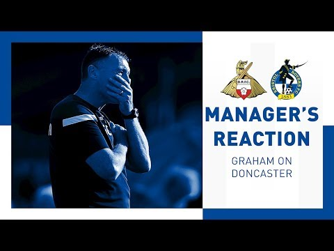 Match Reaction - Graham Coughlan - Doncaster Rovers