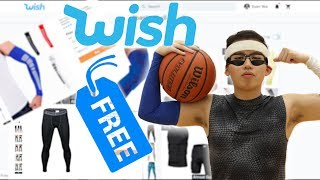 Testing FREE BASKETBALL GEAR From Wish #2!