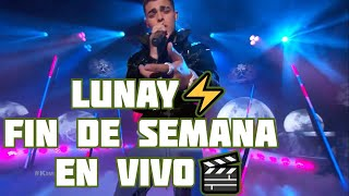 Lunay Fin De Semana En Vivo EEUU Apple Music
