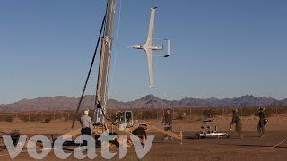 The RQ-21 Blackjack Drone Can Launch And Land On A Bungee Cord