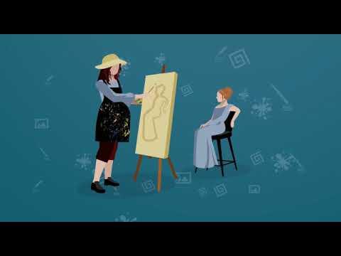 Выставка картин «Материнство раскрывает таланты»