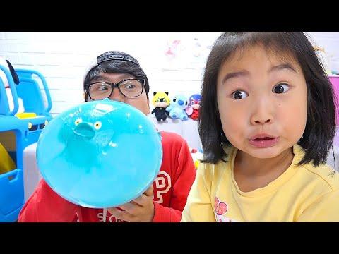 宝蓝充氣游泳池!有一張幻燈片,很有趣〜親子互動,玩遊戲