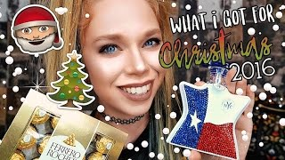 WHAT I GOT FOR CHRISTMAS 2016 - GRAV3YARDGIRL