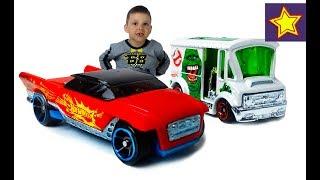 Машинки Hot Wheels Машинка меняет цвет и Автобус Охотники за привидениями Toys for kids