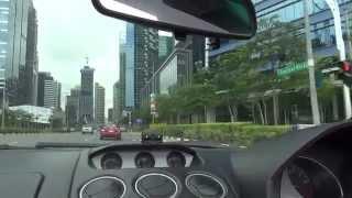 Lamborghini Gallardo - Singapore Drive