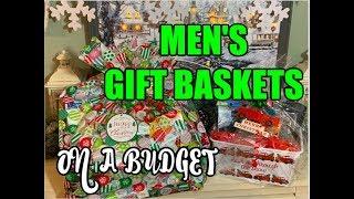 MENS BUDGET GIFT BASKET IDEAS | DOLLAR TREE & STOCKPILE