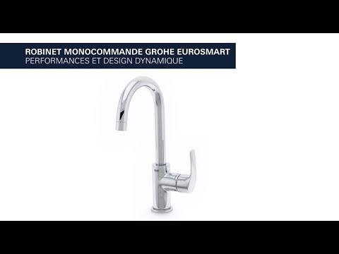 Mitigeur Grohe Eurosmart bec tube