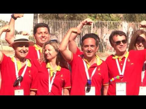Málaga clausura los Juegos Mundiales y cede el testigo a Newcastle
