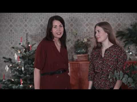 DIY med Linda & Louise: Girlang av kottar till julgranen
