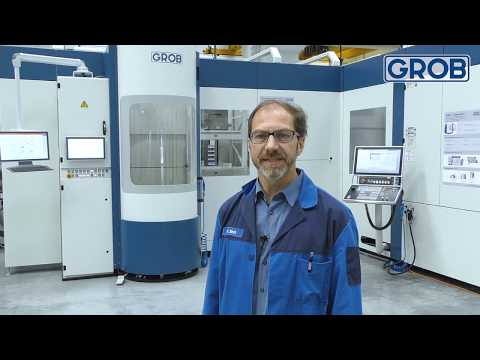 GROB Product Stories – Linear pallet storage system