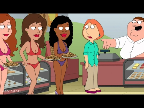 Family Guy - Peter turns Cookie Shop to Strip Club