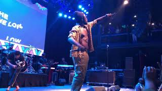 """Burna Boy """"On The Low"""" Live At The Fillmore 4 3 19"""