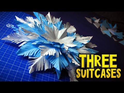How to Make 3D Paper Snowflake - DIY & Crafts - Handimania   360x480