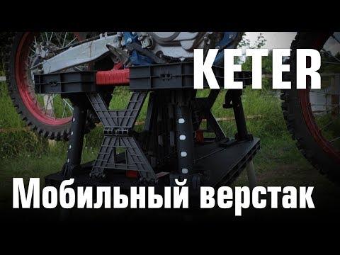 Мобильный верстак Keter
