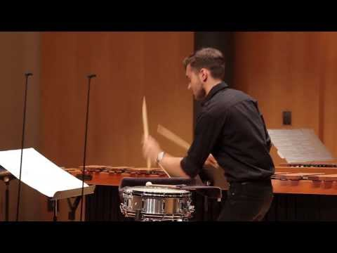 A fun concert snare drum solo. Many of the techniques I used in this piece are transferrable to a variety of other percussion instruments!