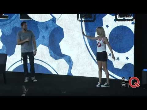 The Way Zachary Levi & Yvonne Strahovski Ended Their 2014 NerdHQ Panel (Yvonne Dances). Mp3