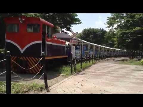 台北市木柵國中戶外教學,乘坐小火車郊區體驗