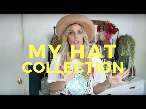 MY TOP 10 HATS// HAT COLLECTION