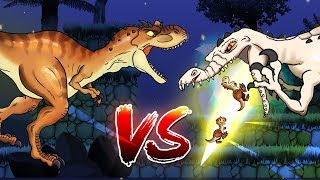 Dinosaurs Battle | Rudy VS Momma T-rex