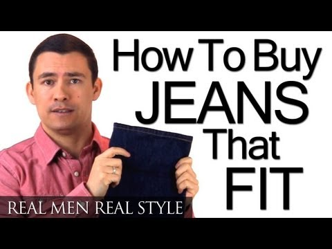 How To Buy Men's Jeans That Fit – Understanding Denim – Waist – Rise – Inseam – Style – Boot Cut