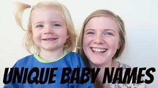 OUR UNIQUE BABY NAMES