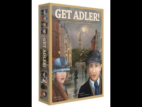 The Purge: # 1678 Get Adler! Deduction Card Game: A new generation of Social Deduction games