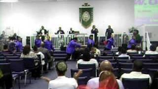 Fred Hammond Loud L.O.U.D Warriors of Worship Dance
