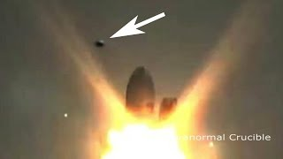 UFO Destroys SpaceX Rocket On Launch Pad?