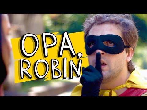 #TBT DO PORTA - OPA, ROBIN