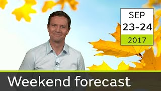 Weekend Weather 23-24 September