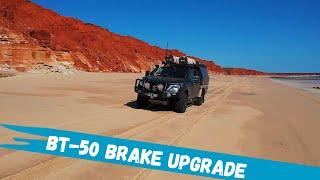 Bendix Ultimate 4WD Brake Upgrade Kit - Mazda BT-50