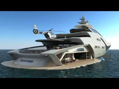 The most beautiful and most expensive boat in the world