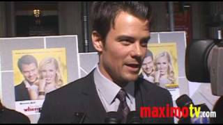 JOSH DUHAMEL on Fergie at 'WHEN IN ROME' World Premiere January 27, 2010