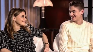 Hero & Josephine Interview on Hardin's tattoos, Impersonating each other's accents❤️