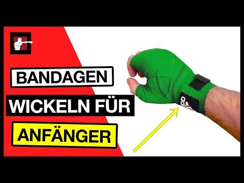 Bandagen wickeln für Anfänger / Hände bandagieren /Wie wickel ich meine Hände richtig?